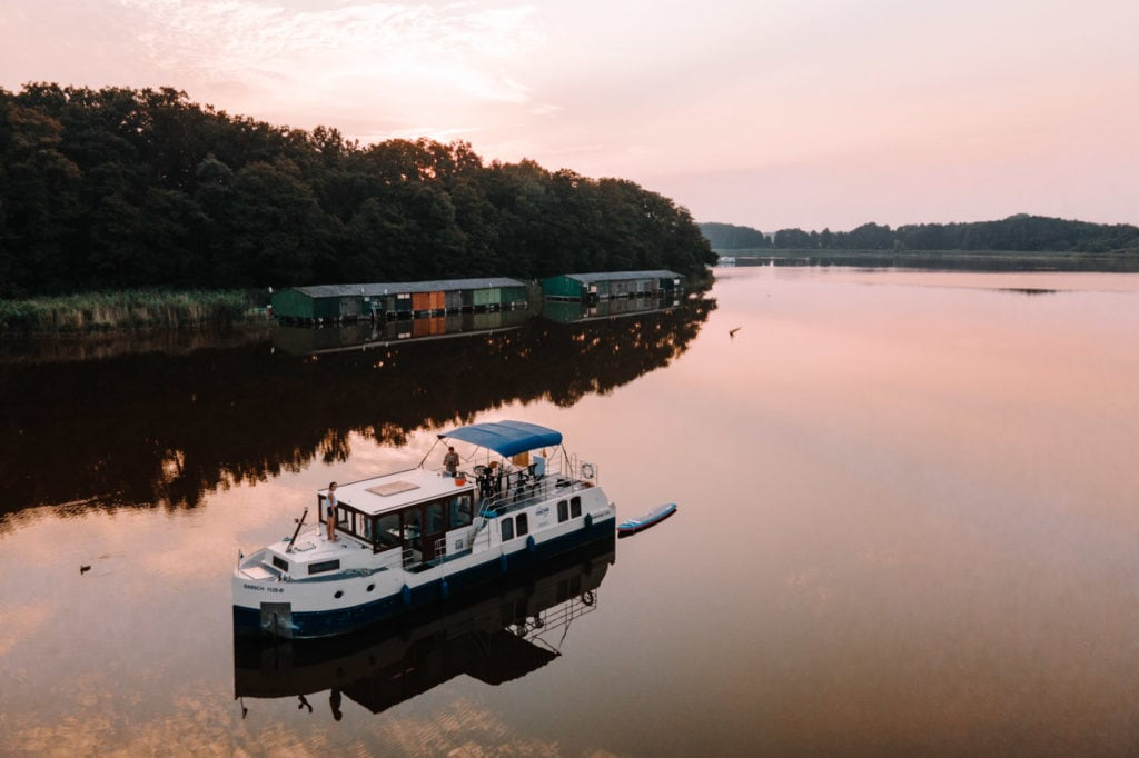 Hausboot Sonnenaufgang