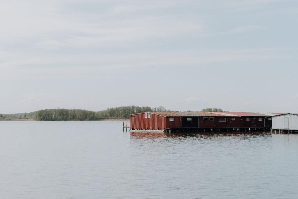 Bootshaus in der Müritz