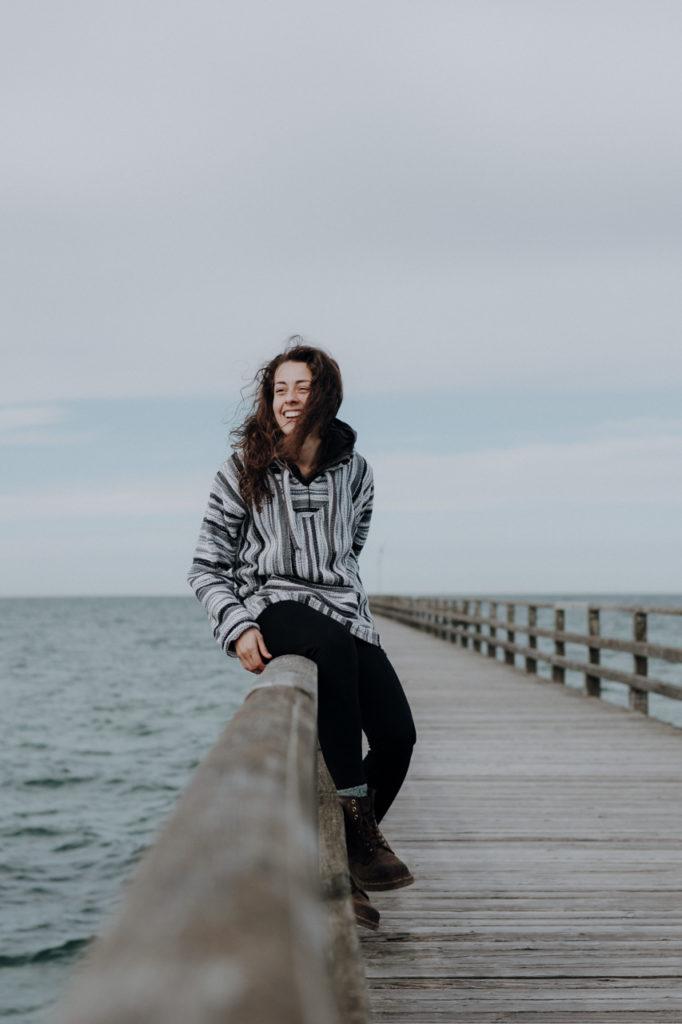 Mit Wind in den Haaren die Ostsee genießen