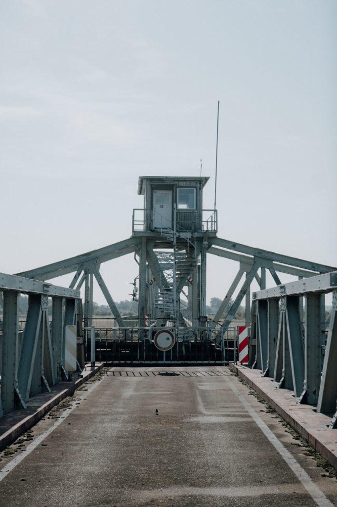 Blick auf die Meiningenbrücke