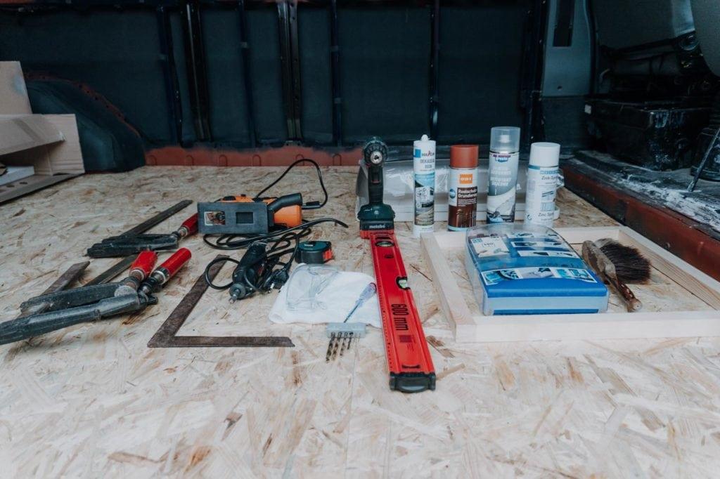 Diese Geräte und Materialien haben wir genutzt