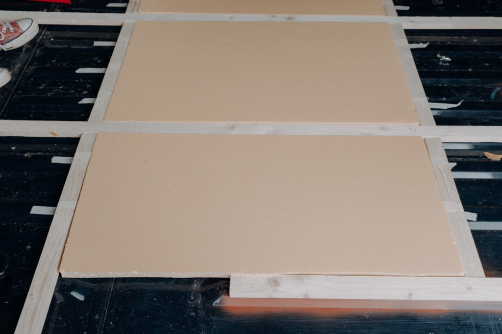 Korkplatten zur Bodenisolierung