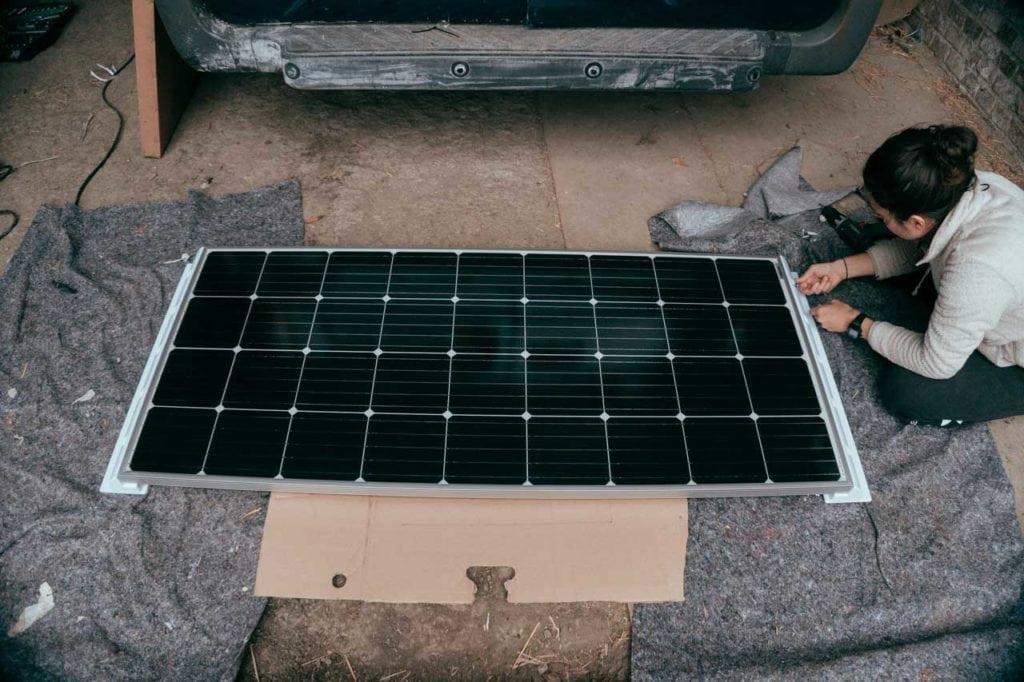 Monokristalline Solarzellen mit hohem Wirkungsgrad