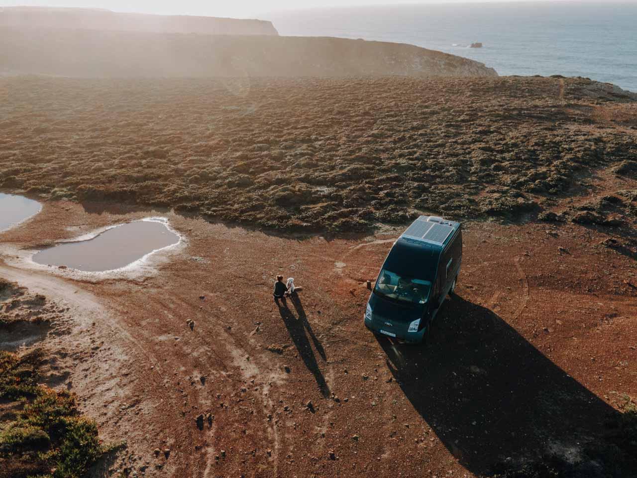 Campervan Solaranlage Portugal