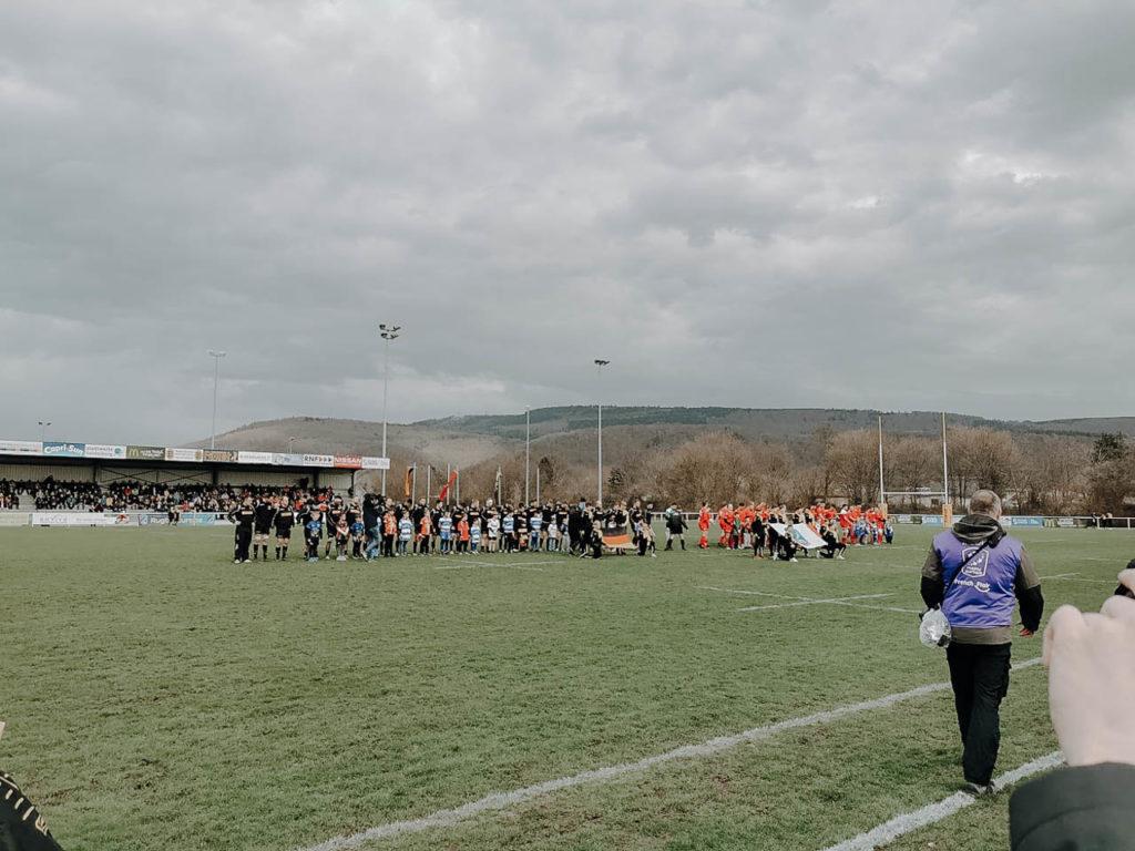 Rugbyspiel in Heidelberg