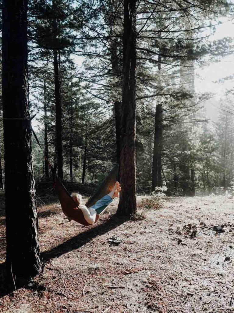 Entspannung pur in der Hängematte