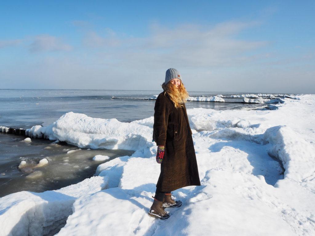 Eisberge am Strand