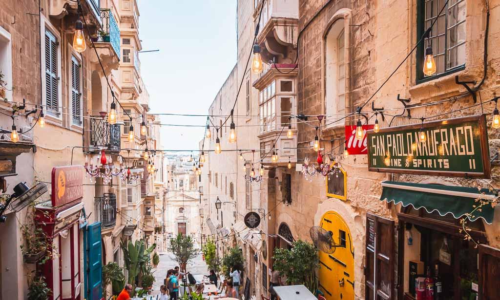 Durch die Gassen Vallettas schlendern