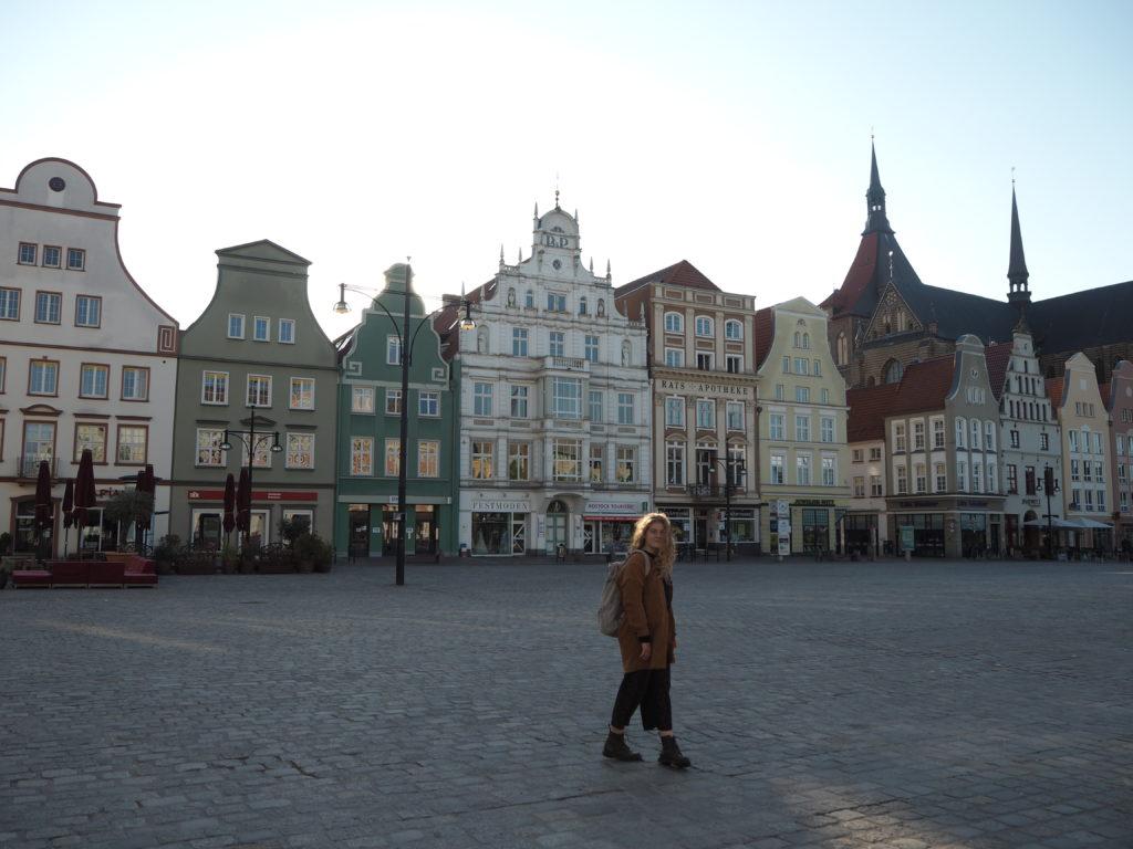 Spaziergang über den Neuen Markt