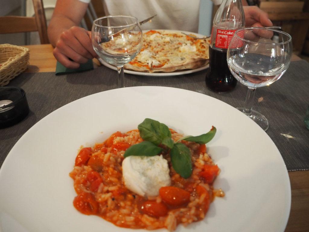Leckeres italienisches Essen