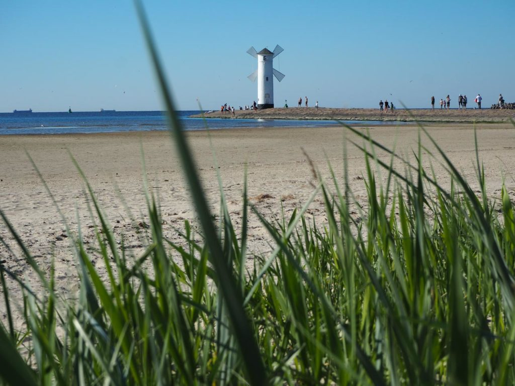 Strandspaziergang zur Mühlenbake