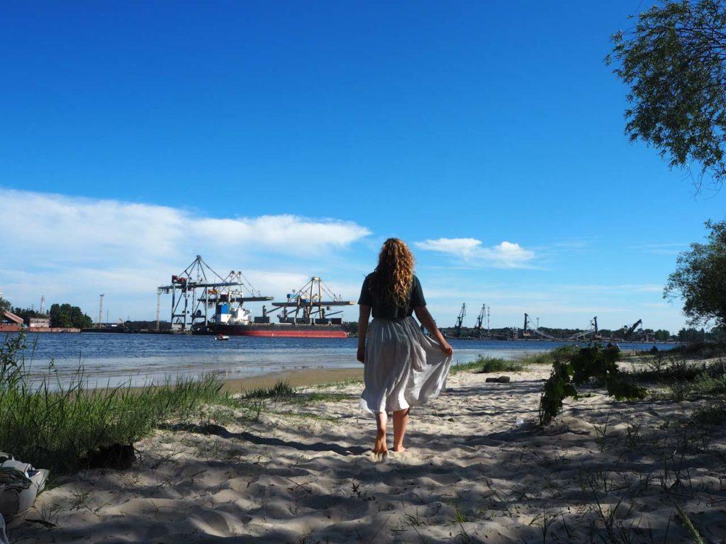 Abenteuer am Ufer des Industriehafens