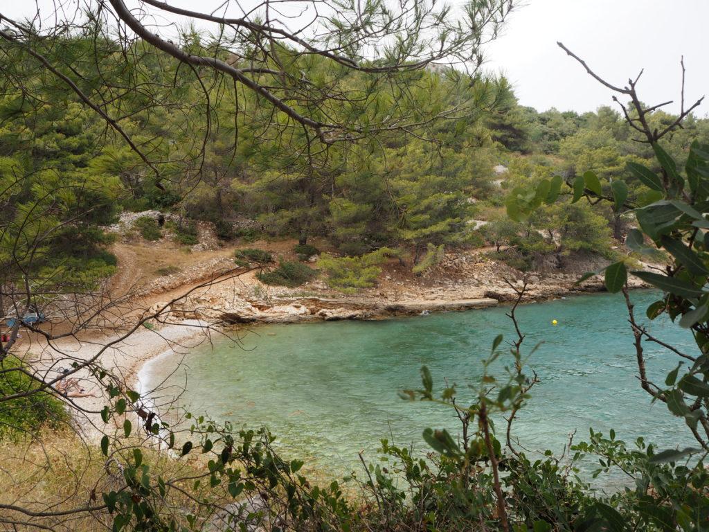 Besuch in einer versteckten Bucht