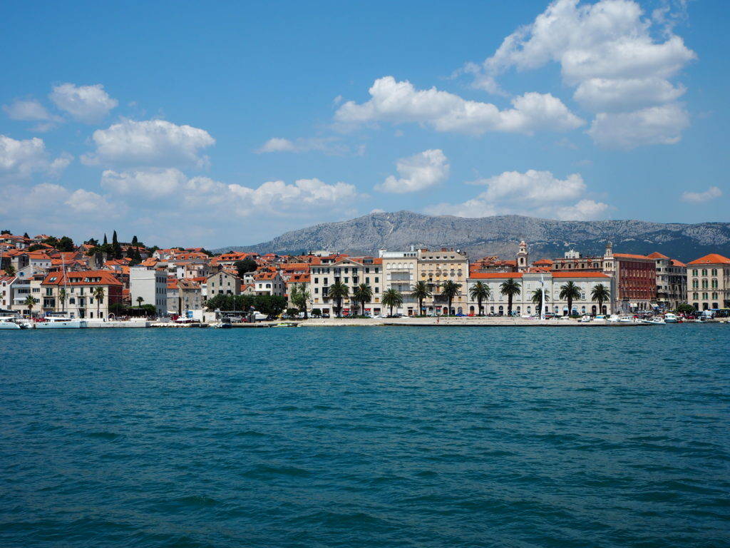 Panorama von Split